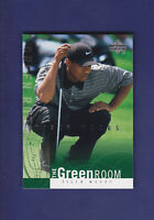 Tiger Woods 2002 Upper Deck Golf The Green Room #GR10