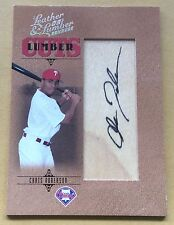 2005 Donruss/Playoff Baseball  Chris Roberson Autograph Card 089/256