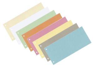 Trennstreifen Trennblätter Trennlaschen Aktenfahnen Register 170g Karton