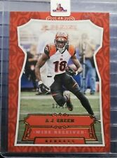 2016 Panini A.J. Green Gold Prizm Parallel /10 Refractor #66 Bengals