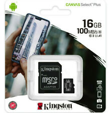 Kingston 16GB micro SD Karte SDHC Class 10 UHS-I 100MB/s Speicherkarte DE/OVP