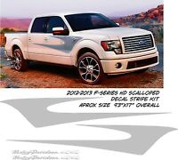 FORD F-150 F-SERIES HARLEY DAVIDSON STYLE SCALLOPED STICKER DECAL STRIPES FLAMES