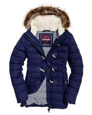 BNWT RRP £99, Ladies/girls SUPERDRY Tall Marl Toggle Puffle JacketXXS
