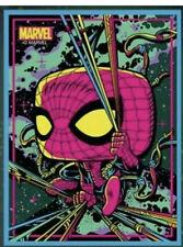 Funko Pop Marvel Spider-Man Black Light Poster Target Exclusive