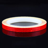 Wheel Decals Strips Motorcycle Tape Luminous Bicycle Sticker Car Rim Reflective