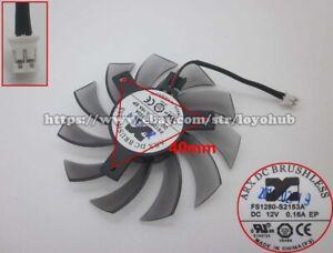 For GIGABYTE GTX460 560 graphics card fan FS1280-S2153A 12V 0.16A 2-Pin