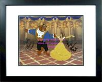 Signed Paige O'Hara Robby Benson Voice Belle of the Ball Disney Beauty and Beast