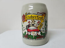 Richmond Virginia 1988 Octoberfest German Beer Stein Mug