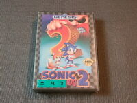 Sega Genesis Sonic 2 The Hedgehog Game Brand New Factory Sealed Korea Import MD