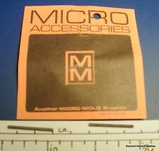 Nylo-rod studs - Micro-Mold - 2 packets of 2