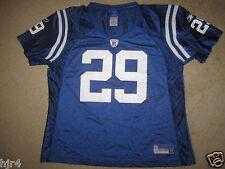 Indianapolis Colts #29 Addai Reebok NFL Jersey Womens XL