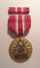 U.S. Merchant Marines Atlantic War Zone Medal with RIBBON