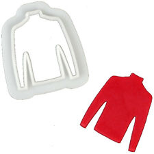 FMM Christmas Jumper Cookie Cutter - Football Sports School Cake Topper Biscuit