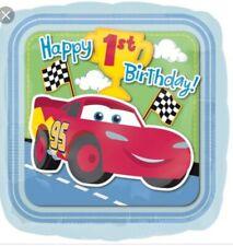 Disney Cars 1st Birthday Champ Balloon~ unpackaged party store bin item