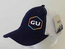 NEW BocoGear GU Trucker Hat OSFM Navy / White Mesh Strapback