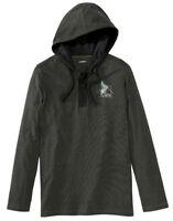 Sweatshirt à capuche pour hommes maillot manches longues pull avec cordon loisir