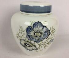 "Vintage 6"" Wedgwood ENGLAND Susie Cooper Glen Mist Chrysanthemum Ginger Jar"