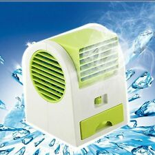 Electric Air Conditioning Fan Cooling Desktop Portable Bladeless Mini Cool Fan