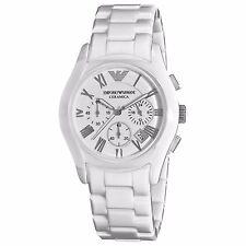 Men's Watches Emporio Armani AR1403 Ceramic Watch Chronograph Date Quartz