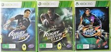 NRL Rugby League Live, Rugby League Live 2 and Rugby League Live 3  Xbox 360