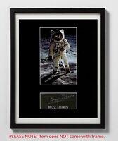 Buzz Aldrin Matted Autograph & Photo! Apollo 11 Moonwalker! 2nd Man on Moon!