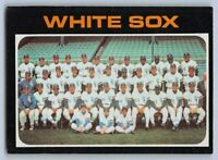 "1971  CHICAGO WHITE SOX - Topps Baseball ""TEAM"" Card # 289"