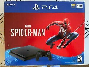 Sony PlayStation 4 Slim 1TB Jet Black Console