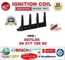 Bobina de ignición para OEM 597085 9651 710680 6 Pin Conector De Bujía Incl