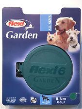 Flexi Dog Lead Leash Collar Garden Retractable Tie-Out Leash - 6m - 35 Kg