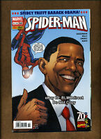 Amazing Spider-Man #583 VF/NM Euro 1st Print Obama Variant