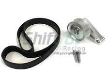 K Series Adjustable EP3 Pulley & BELT Kit K20 K24 Civic Integra K-Series Swap