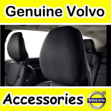 Genuine Volvo Front / Rear Headrest Pillow (Fabric: Leather Colour: Charcoal)