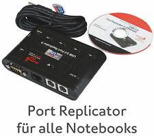 Port Replicator II PX1173E-1PRP Adapter USB -> RS-232 2x Ps/2 10/100 Network Ok