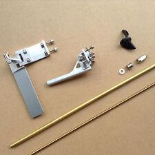 CNC Alloy 95mm Rudder Stinger & 4mm Flex Cable Shaft Set for Small RC Boat #1763