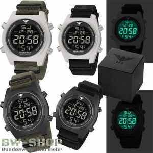 KHS INCEPTOR EINSATZUHR DIGITAL MILITÄR BW ARMEE UHR US ARMY TACTICAL WATCH