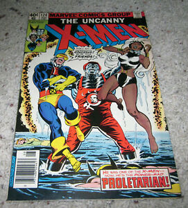 X-men 124 VF Bryne Art Cyclops Wolverine Nightcrawler Storm LOT MCU