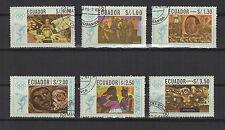 Mexico Jeux Olympiques Equateur 1968 6 timbres / T1659