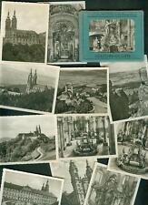 Altes Photo-Mäppchen Vierzehnheiligen 12 Fotos 1950er Janke & Maiwald