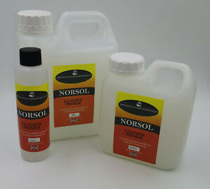 NORSOL Leather Primer for adhesion of leather colourant 100ml colourants