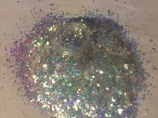 Beautiful Glitter Nail art ice cream Sunday     For Acrylic & Gel Application