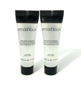 Lot/2 Smashbox Photo Finish Foundation Primer ~ .25 oz each ~
