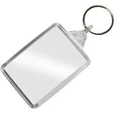 PERSONALISED Gift - YOUR OWN PHOTO & MESSAGE IN A QUALITY KEYRING