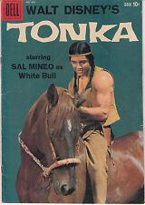 Tonka, Four Color #966 (Jan 1959, Dell) Sal Mineo photo cover 8.0 VF