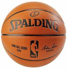 "Spalding Nba Replica Full Size I/O Game Ball Basketball 29.5"""