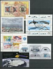 Iceland GREAT Lot of 6 Souvenir Sheets Cancelled - FREE SHIPPING
