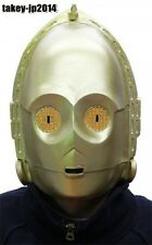 Star Wars C3PO Rubber Mask Cosplay made in Japan  Free Shipping
