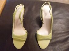 Carvela like green  Heel Shoes Sandles Size 39