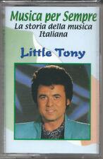 Little Tony. I Successi (2000) Musicassetta NUOVA Cuore Matto. Riderà. Love boat