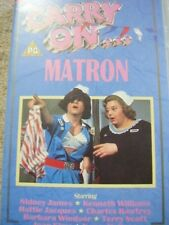 VHS Video Cassette tape,Carry on,Matron