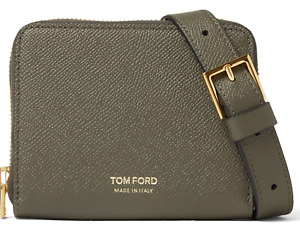 Tom Ford Lanyard Pouch Bag Neck Strap Coin Purse Wallet Card Case New